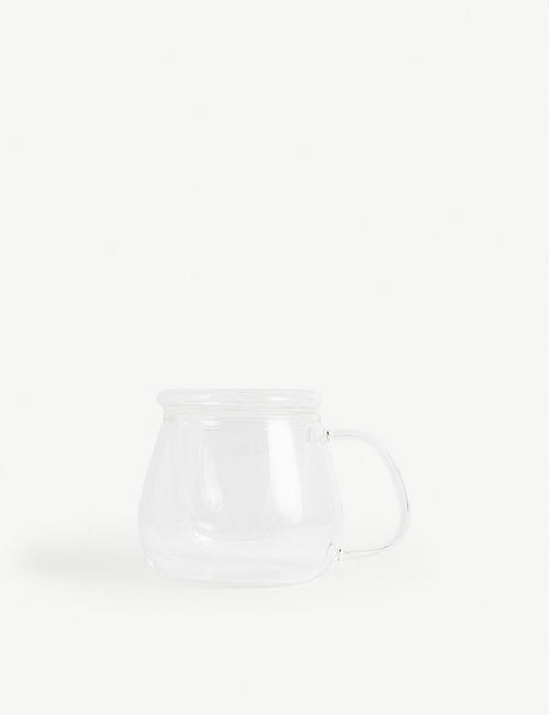 THE WHITE COMPANY: Infusion glass teacup 9.5cm