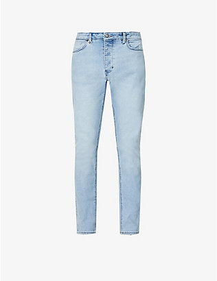 NEUW: Ray slim tapered-leg stretch-denim jeans
