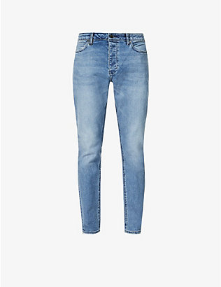 NEUW: Ray tapered stretch-denim jeans