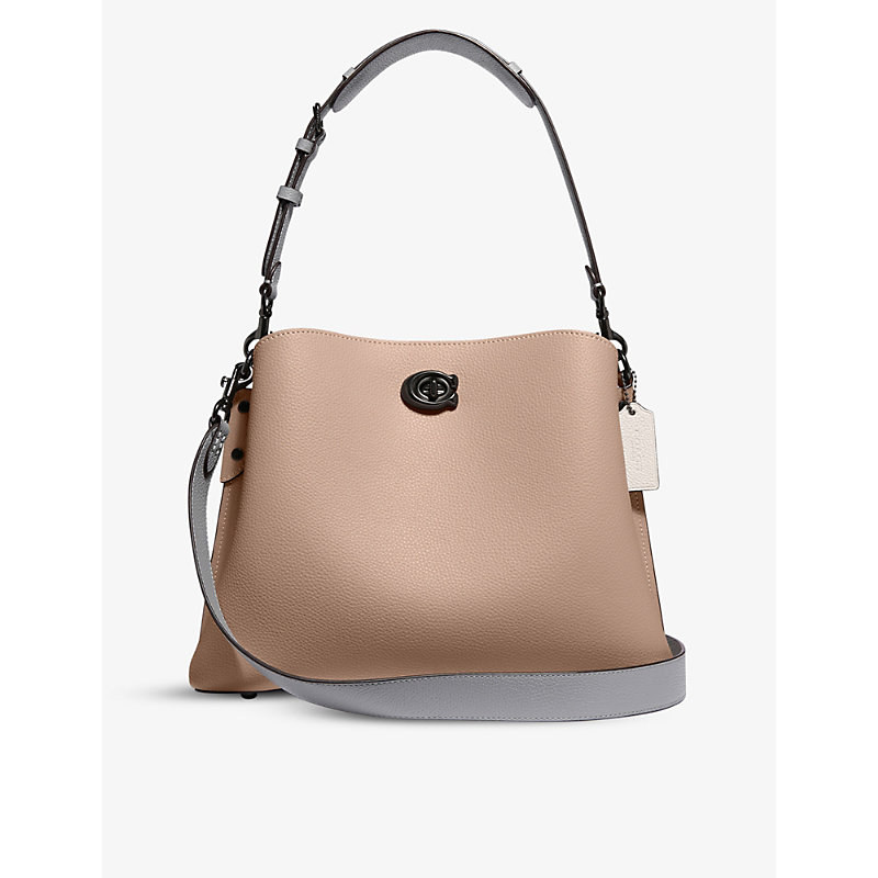 Coach WILLOW LEATHER CROSS-BODY BAG