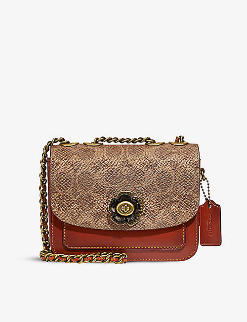 COACH: Madison leather cross-body bag