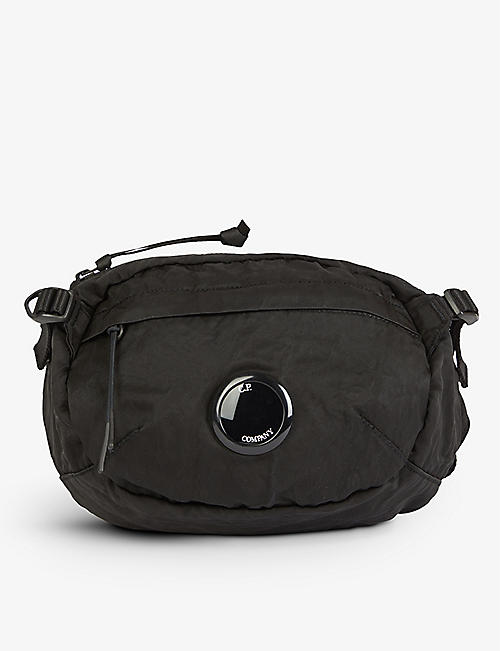 CP COMPANY: Brand-badge shell cross-body bumbag
