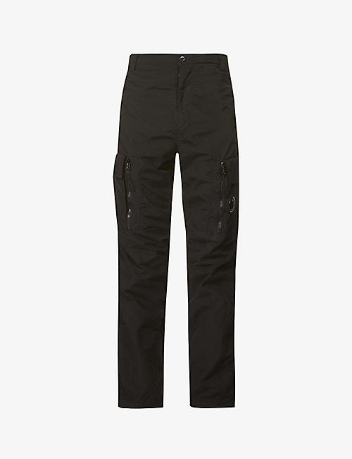 CP COMPANY: Tactical pocket-embellished shell cargo trousers