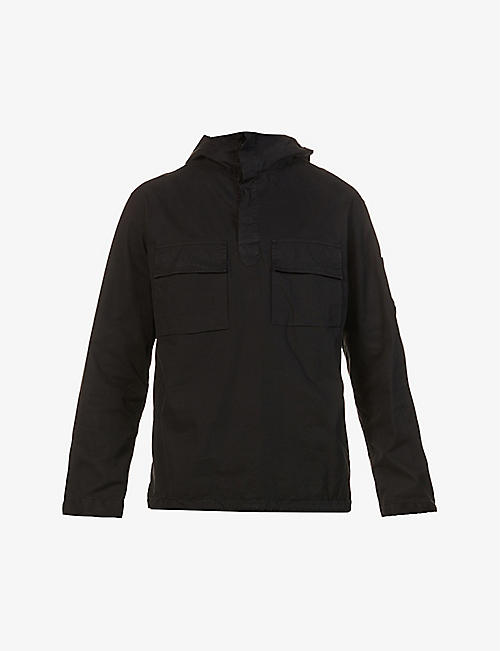 CP COMPANY: Gunner cotton-twill jacket