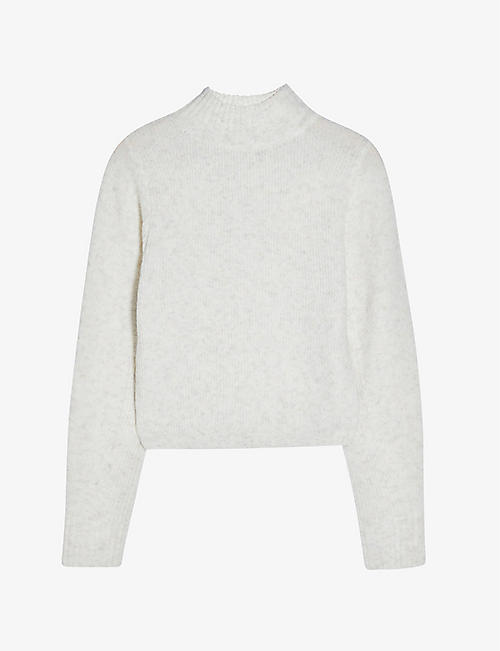 TOPSHOP: Cropped knitted jumper