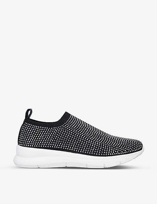 CARVELA COMFORT: Cosmica embellished low-top trainers