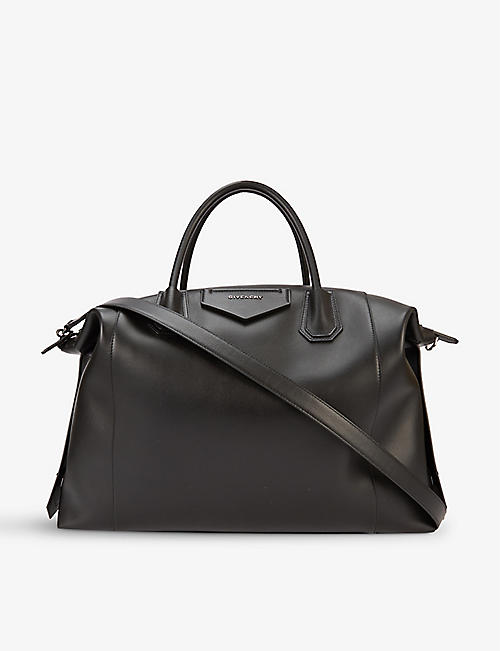 GIVENCHY: Antigona large leather tote bag