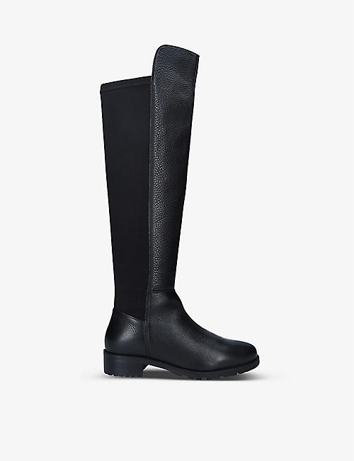CARVELA COMFORT: Vanessa leather knee-high boots