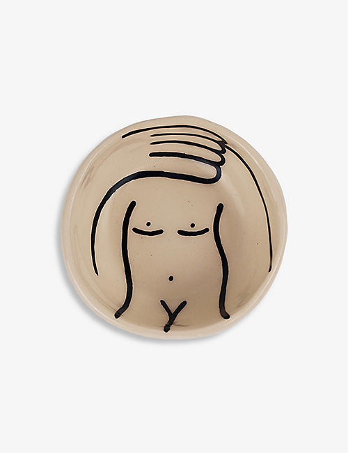 LOUISE MADZIA: Nude Arm ceramic pinch bowl 7.5cm