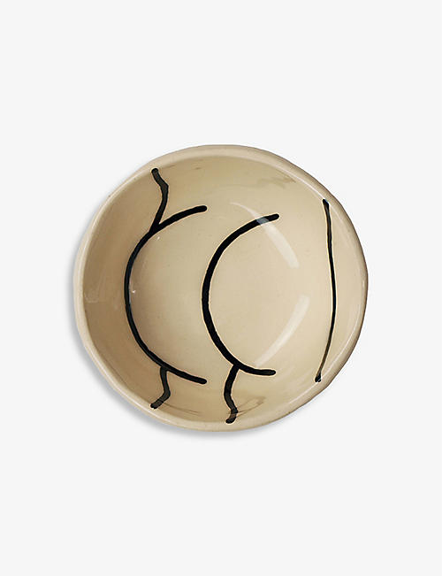 LOUISE MADZIA: Toosh ceramic pinch bowl 7.5cm