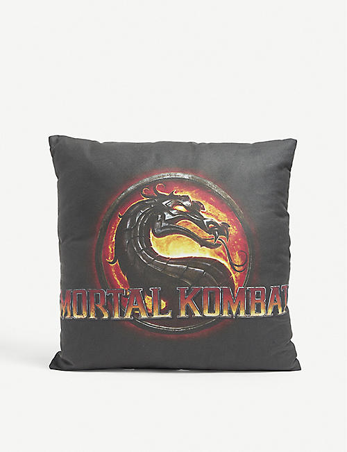 MJB - MARC JACQUES BURTON: MJB Marc Jacques Burton x Everlast x Mortal Kombat woven cushion 36cm x 36cm