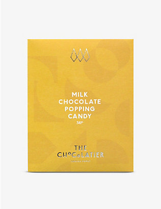 THE CHOCOLATIER: Popping candy milk chocolate bar 50g