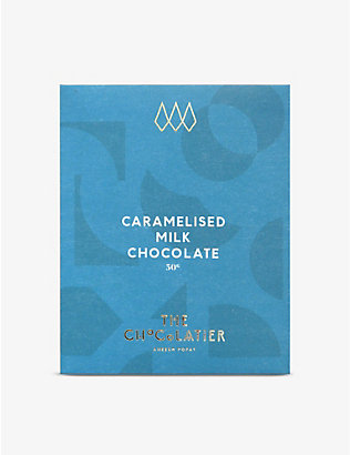 THE CHOCOLATIER: Caramelised milk chocolate bar 50g