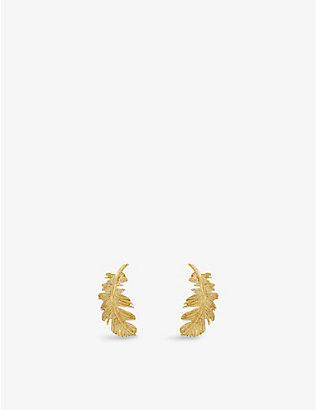 THE ALKEMISTRY: The Alkemistry x Kismet by Milka 18ct yellow-gold earrings