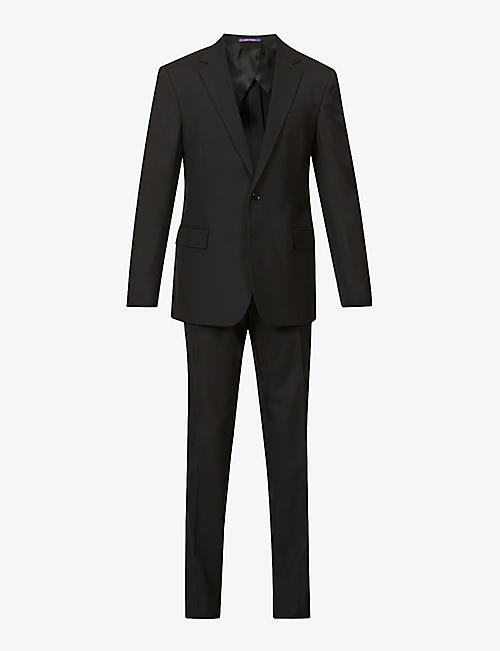 RALPH LAUREN PURPLE LABEL: Single-breasted regular-fit wool suit