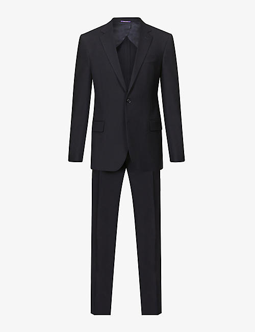RALPH LAUREN PURPLE LABEL: Gregory regular-fit wool suit