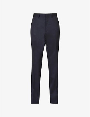 RALPH LAUREN PURPLE LABEL: Tapered wool trousers