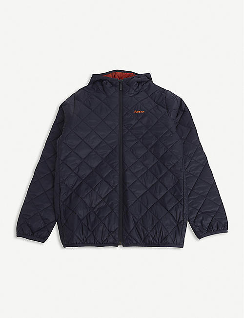 BARBOUR: Holg quilted jacket
