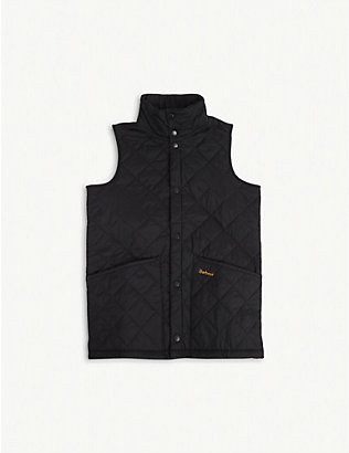 BARBOUR: Liddesdale quilted gilet 6-15 years