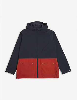 BARBOUR: Ingleton two-tone jacket 6-15 years
