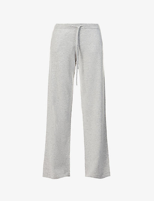 CHINTI AND PARKER: Wide-leg cashmere jogging bottoms