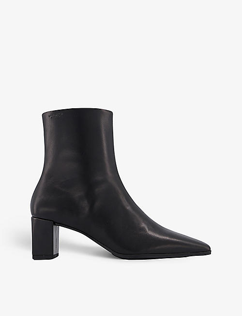 VAGABOND: Tessa block heel leather boot