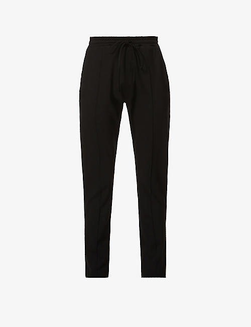 PREVU: Belmont tapered cotton-blend jogging bottoms