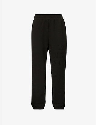 P.E NATION: Power Play organic stretch-cotton jogging bottoms