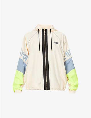 P.E NATION: First Position shell jacket