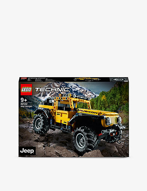 LEGO: LEGO® Jeep Wrangler adventure set