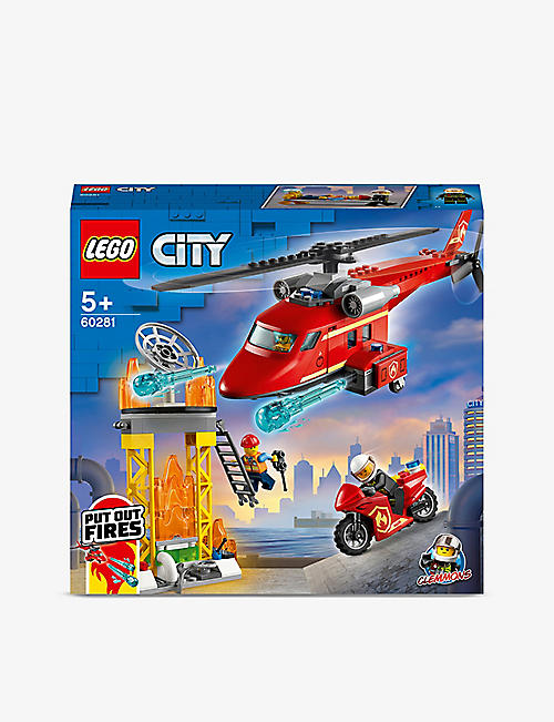 LEGO: LEGO® City 60281 Fire Helicopter Rescue playset