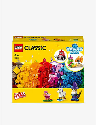 LEGO: LEGO® CLASSIC 11013 Creative Transparent Bricks set