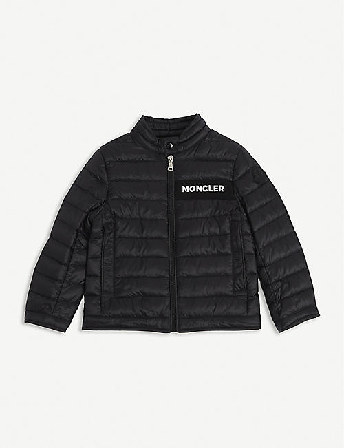 MONCLER: Nasses quilted shell jacket 4-14 years
