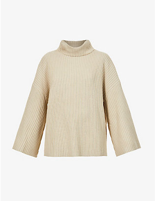PRETTY LAVISH: Lina turtleneck knitted jumper