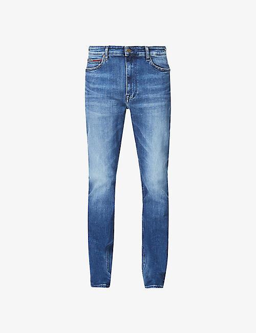 Tommy Jeans Straight Leg Jeans Clothing Mens Selfridges Shop Online
