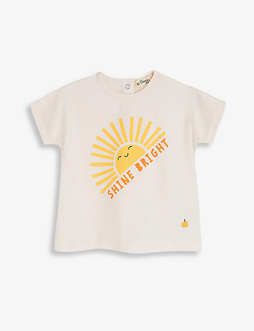 BONNIE MOB: Sunshine cotton-blend T-shirt 3-24 months