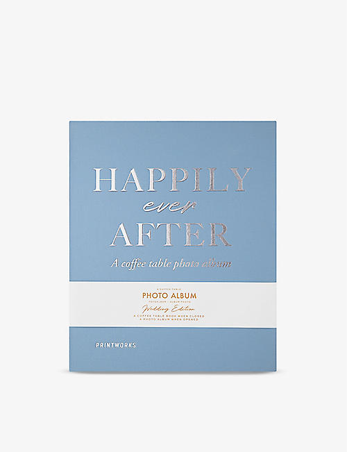 PRINT WORKS: Happily Ever After coffee table photo album 21cm x 28cm