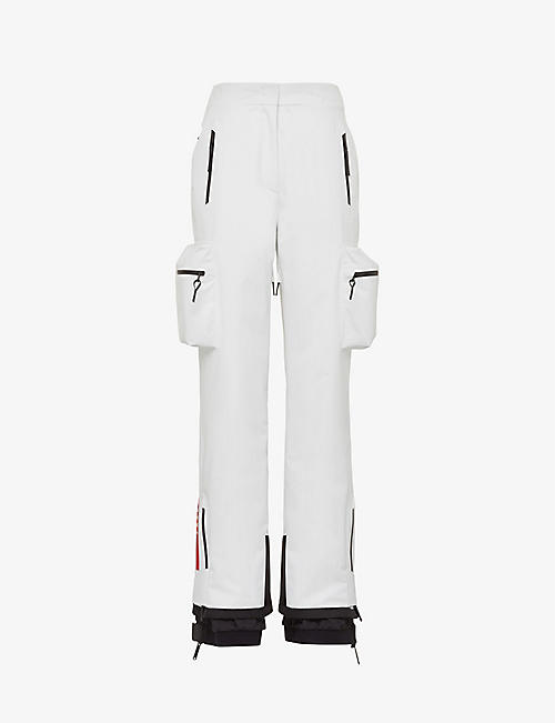 PRADA: Padded boned ski-fit woven ski trousers