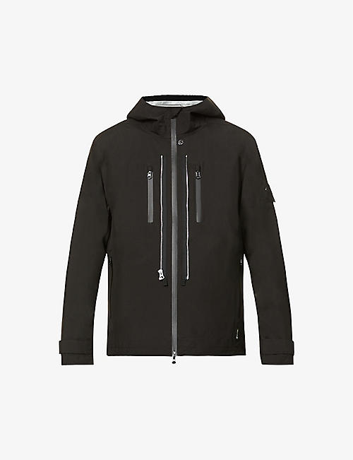 STONE ISLAND SHADOW PROJECT: Drawstring-hem shell hooded jacket