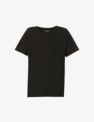 AMIRI: Shotgun cotton-jersey T-shirt