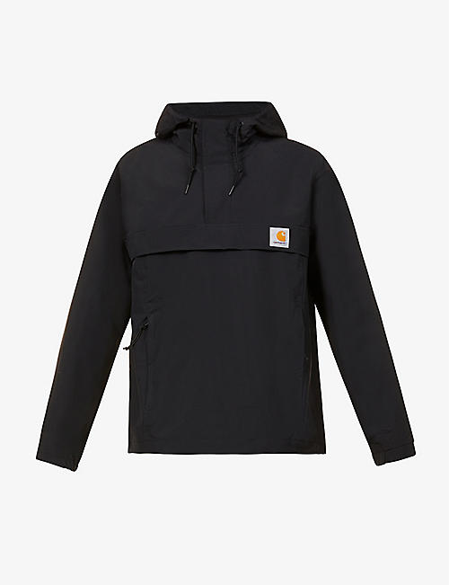 CARHARTT WIP: Nimbus drawstring-hem shell hooded jacket
