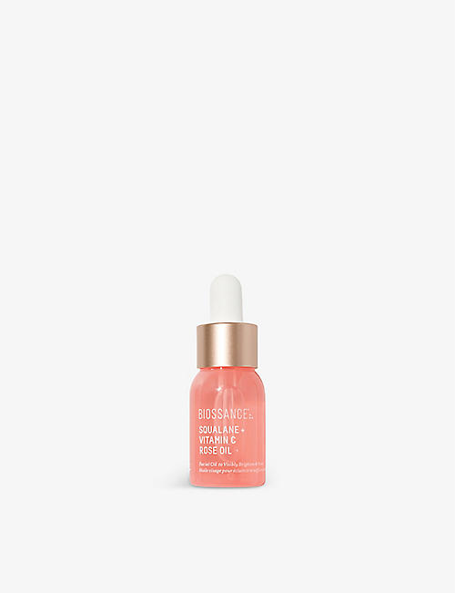 BIOSSANCE: Squalane + Vitamin C Rose oil 12ml