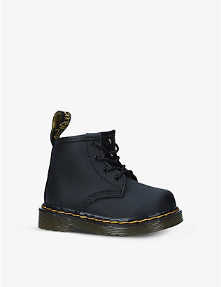 DR MARTENS: 1460 lace-up leather ankle boots 6-24 months