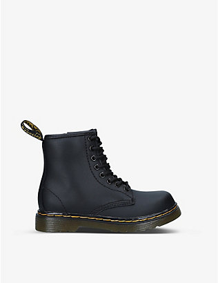 DR MARTENS: 1460 lace-up leather ankle boots 6-9 years