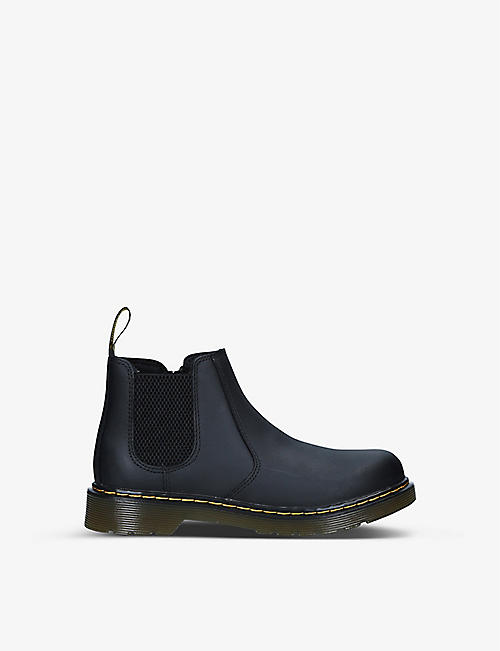 DR MARTENS: 2976 platform leather Chelsea boots 6-10 years