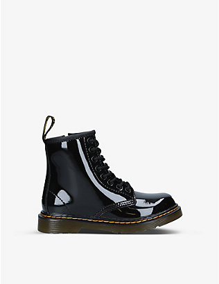 DR MARTENS: 1460 8-eye leather boots 6-9 years