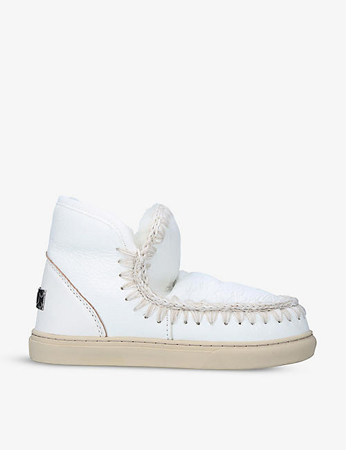 MOU: Eskimo sheepskin trainers