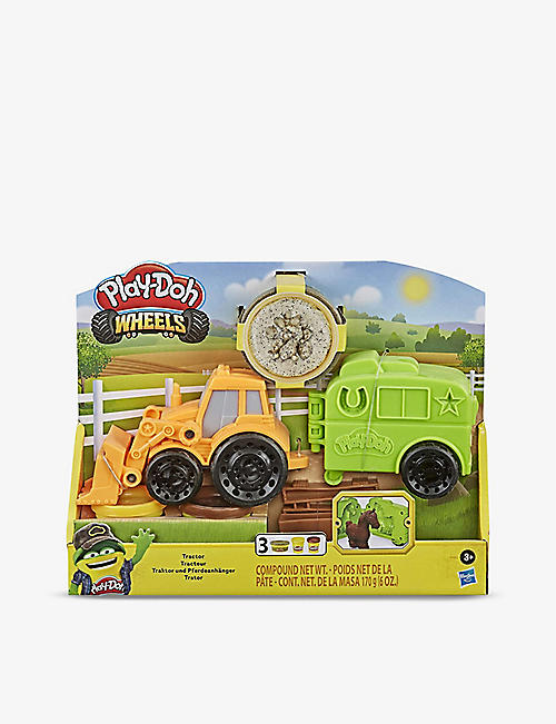 PLAYDOH: Tractor with Horse Trailer playset