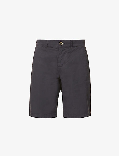 7 FOR ALL MANKIND: Slimmy straight-leg slim-fit stretch-cotton chino shorts