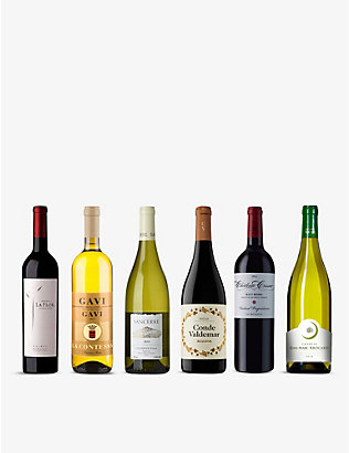WINE CASE: Classic Wines Mixed Case 6x750ml